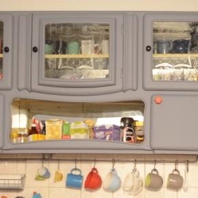Fészekrakás - Reszekrény a konyhánkban
