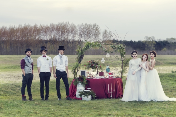 an awesome styled shoot