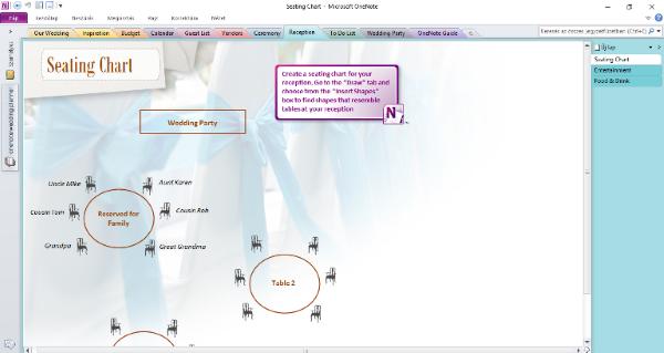 OneNote_wedplan_screenshot_seating